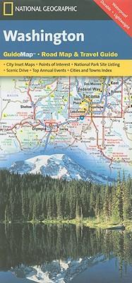 National Geographic Guide Map Washington